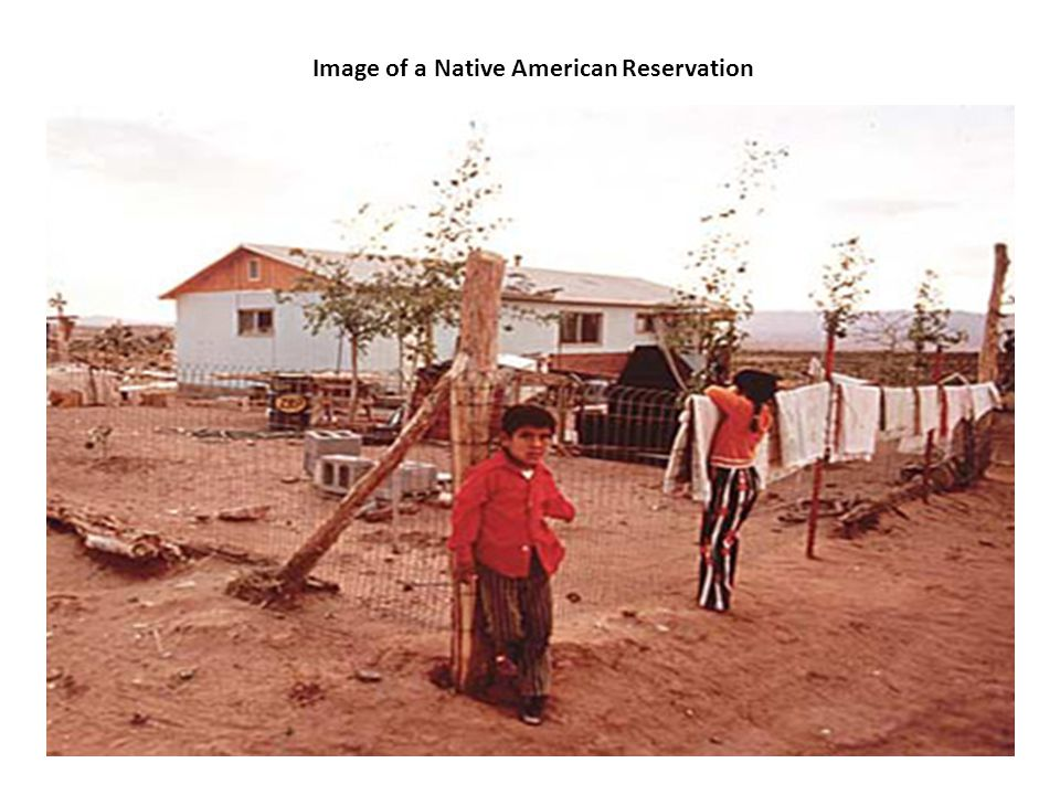 Image of a Native American Reservation