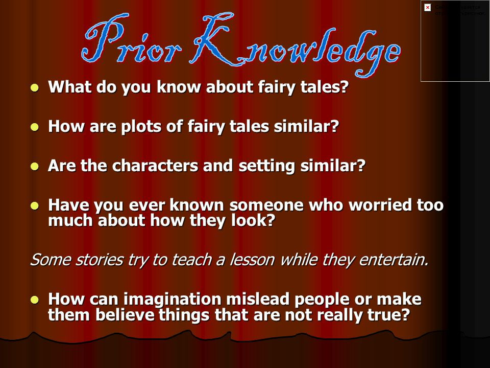 What do you know about fairy tales. What do you know about fairy tales.