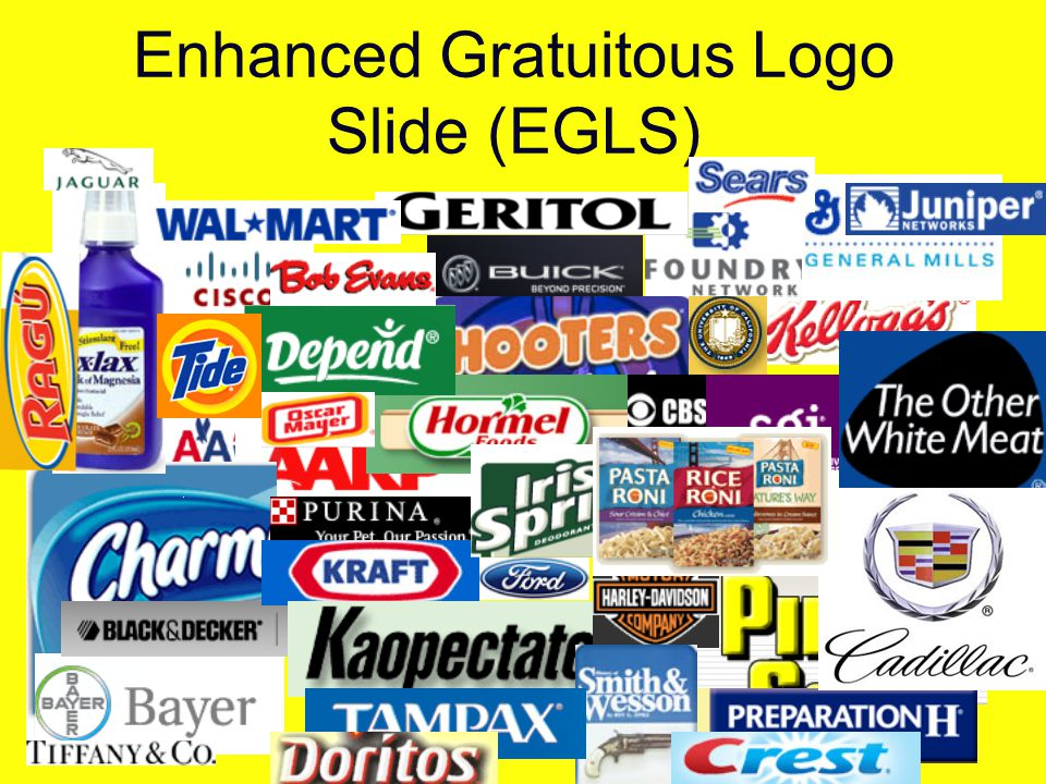 Enhanced Gratuitous Logo Slide (EGLS) http://www.simonizusa.com/default.asp