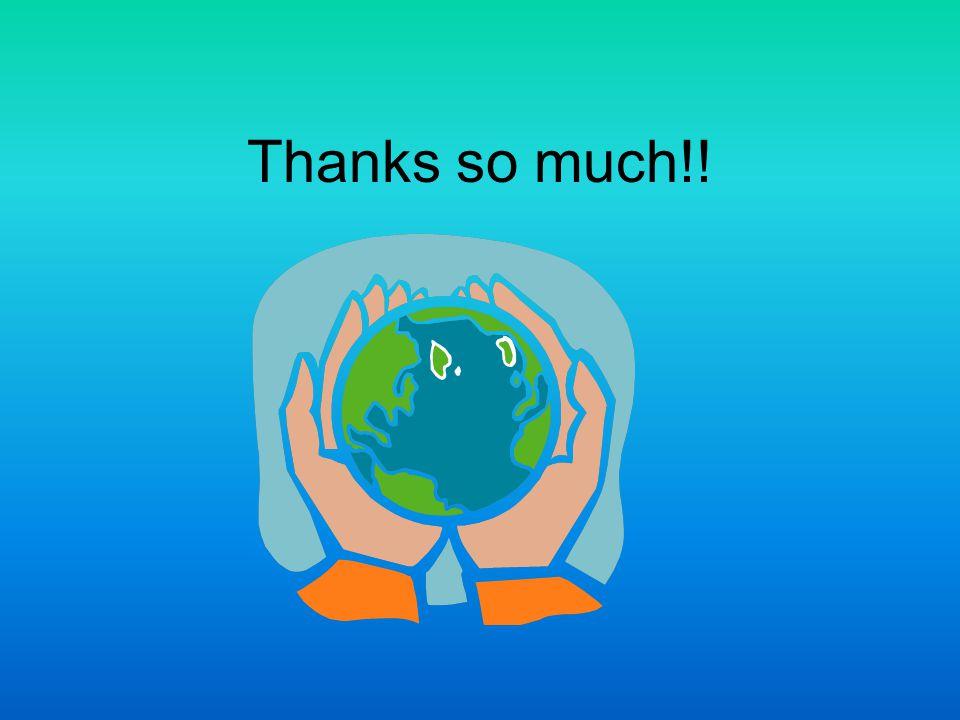 Thanks so much!!