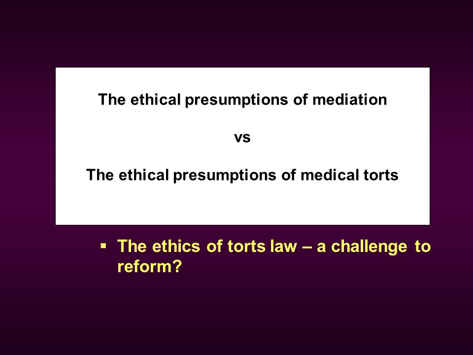 " Tort Reform: Here we go again.  Why the existing system needs change.  One example – application of ""mediated"" post-event provider-patient dialogu"