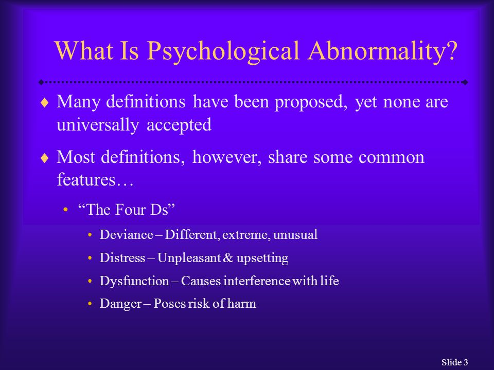 Slide 4 Deviance  From what.