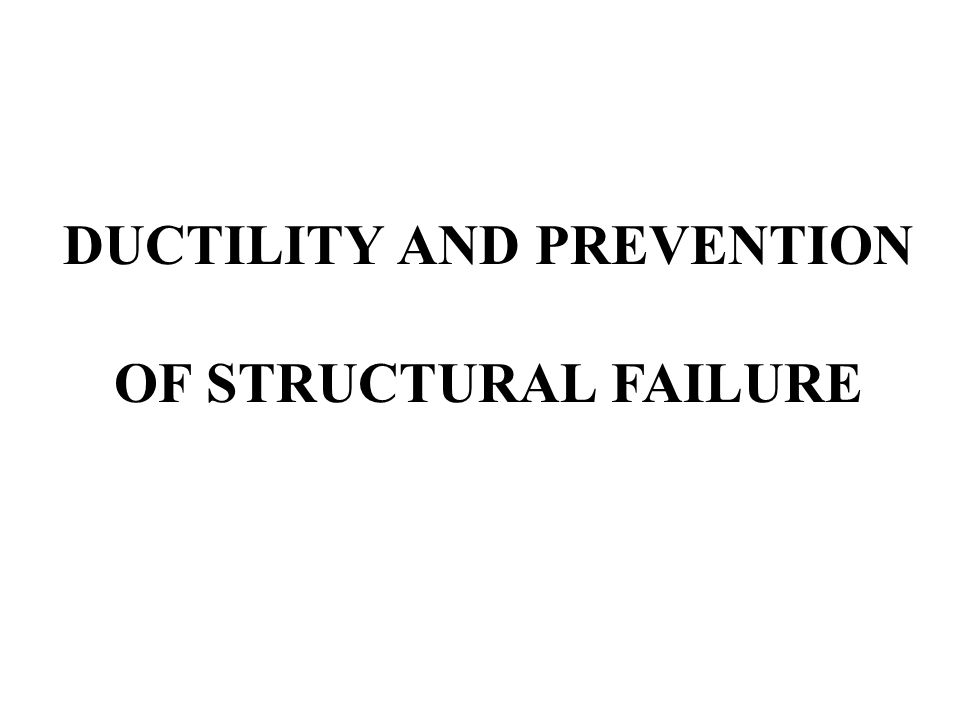 TOPICS Types of Loading Structural Distress under Various Loading Conditions Ductility Provisions and Structural Repair/Retrofit Relevant Research at UAP Conclusions