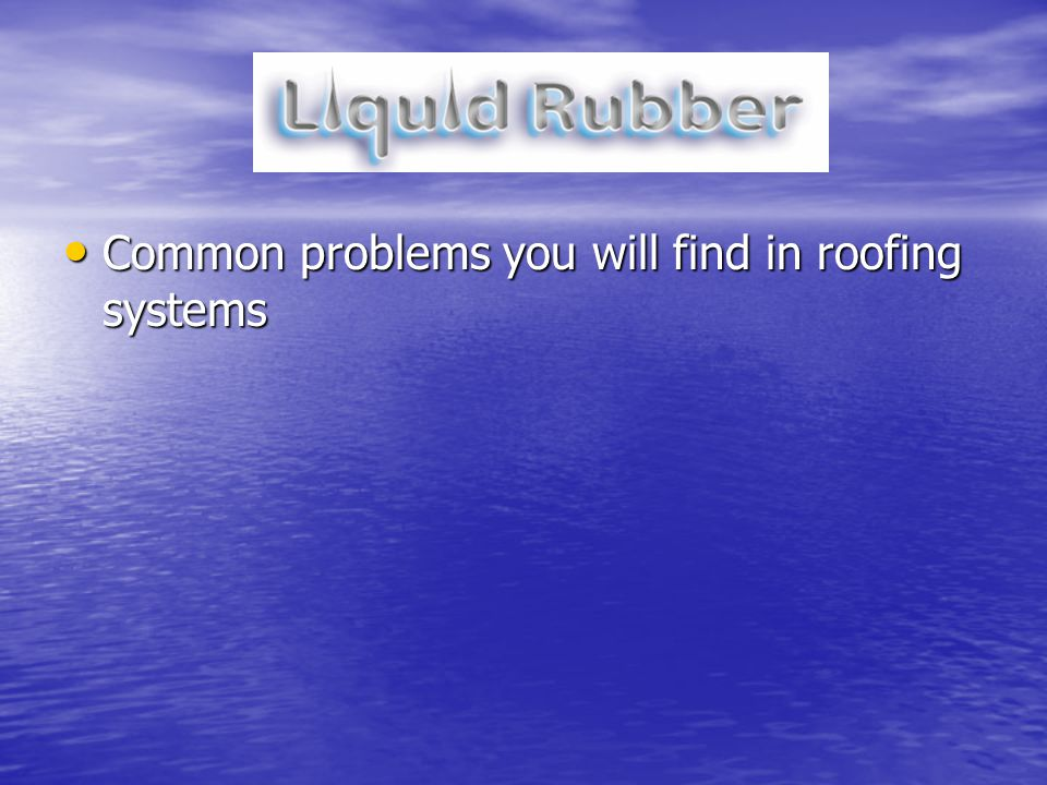 Common problems you will find in roofing systems Common problems you will find in roofing systems