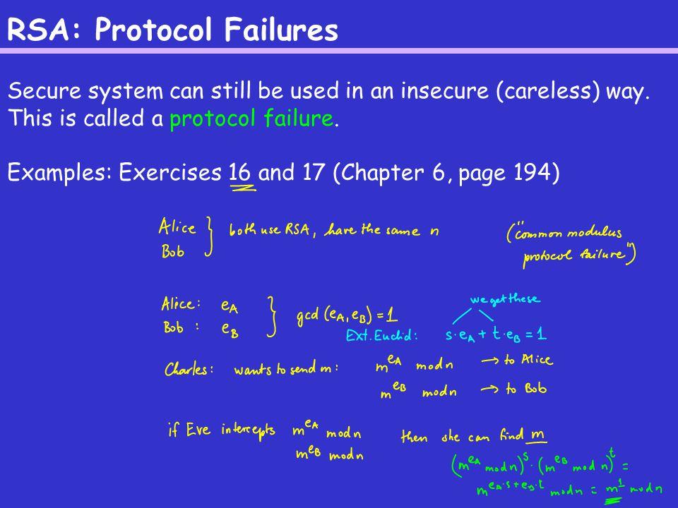RSA: Insecurity against Chosen-Ciphertext Eve wants to decrypt y (a ciphertext).