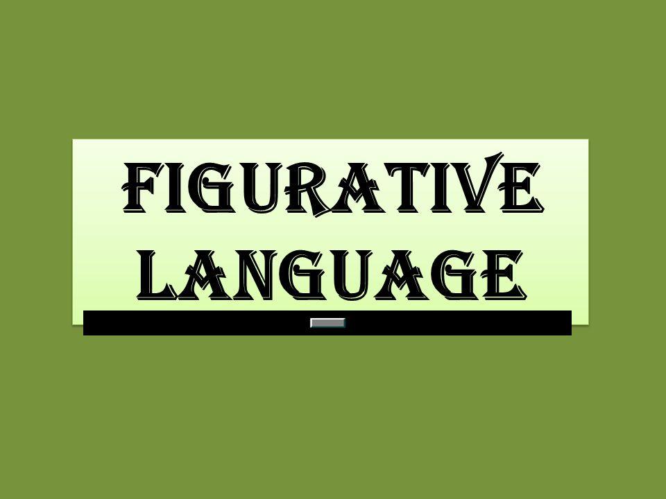 figurative language figurative language