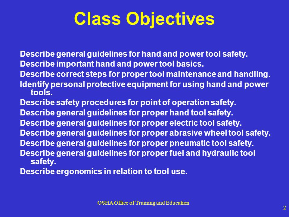 OSHA Office of Training and Education 23 Non-sparking , spark-resistant or spark-proof tools are names given to tools made of metals such as brass, bronze, Monel metal (copper-nickel alloy), copper-aluminum alloys (aluminum bronze), copper-beryllium alloys (beryllium bronze), and titanium.