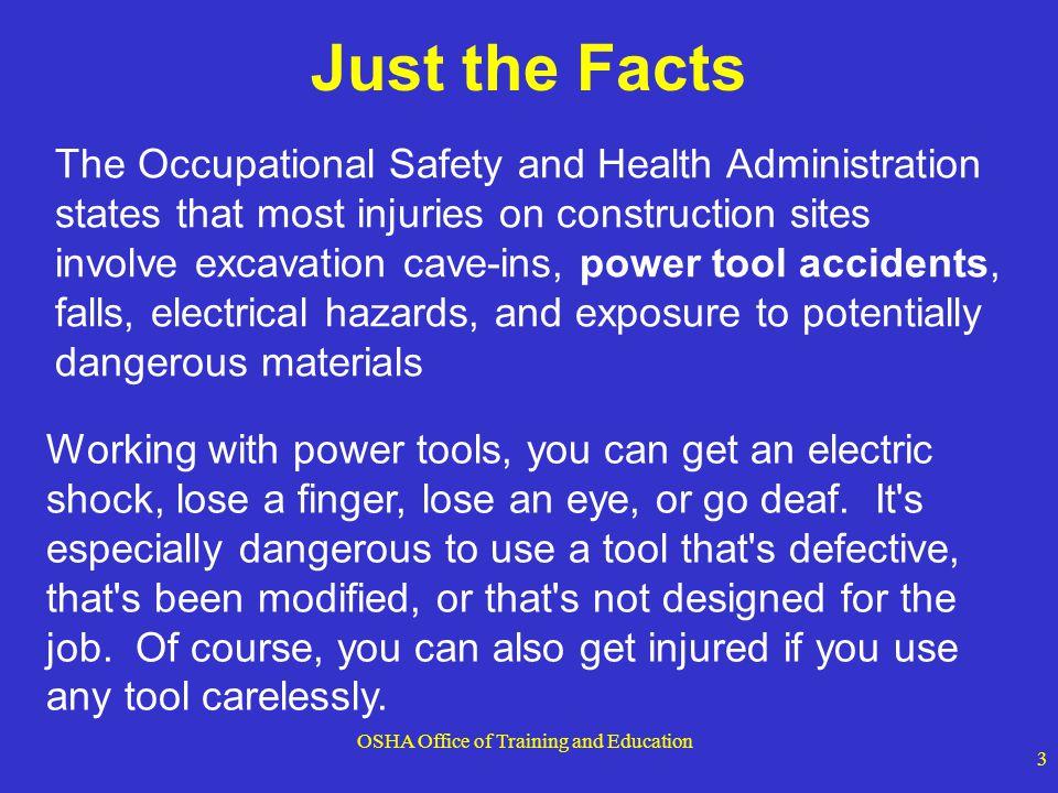 OSHA Office of Training and Education 14