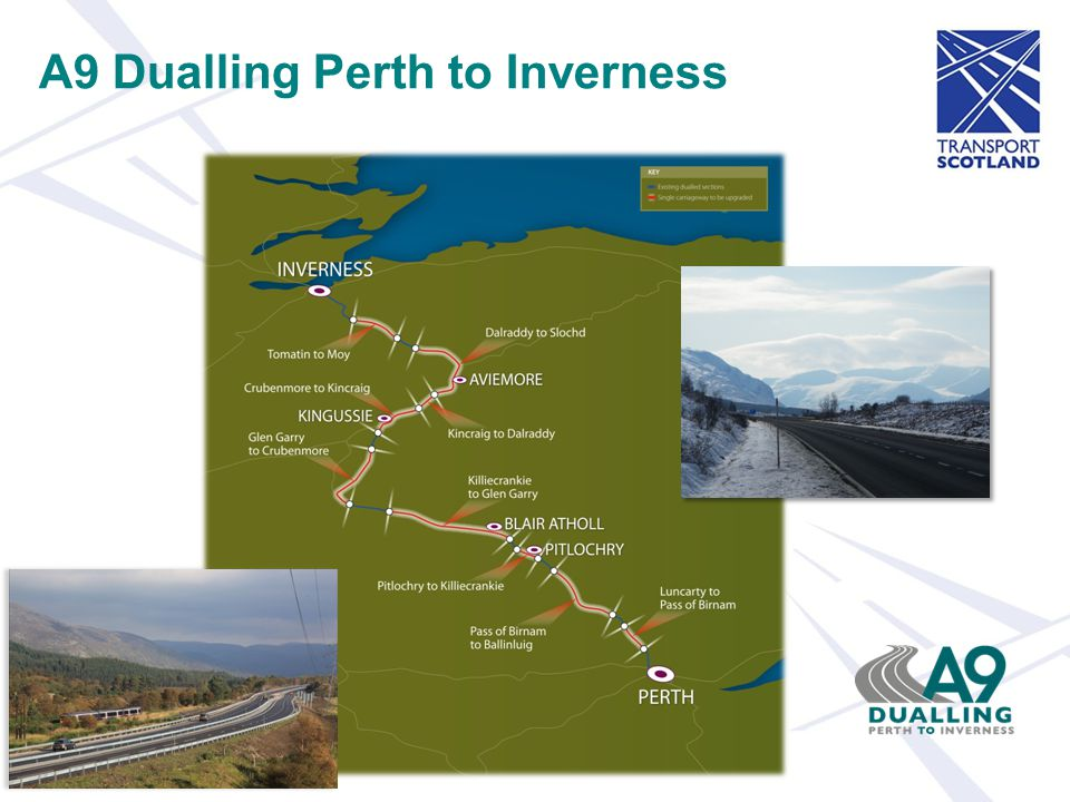 A9 Dualling Perth to Inverness