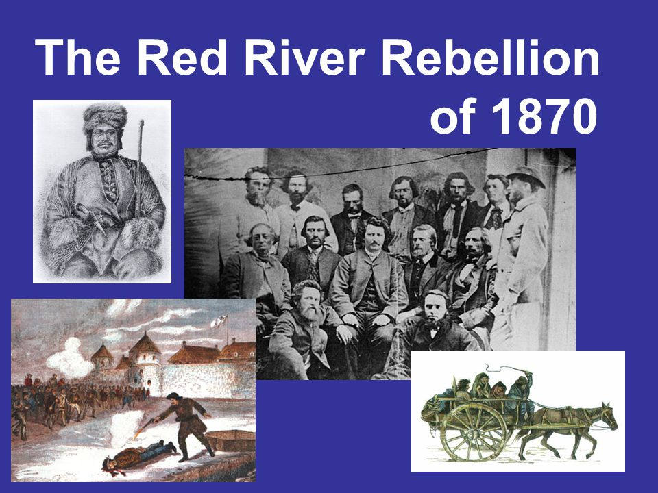 Please get out your notes You are responsible for taking down important notes Important notes highlighted with Red River Rebellion