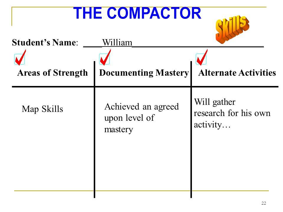 21 Areas of StrengthDocumenting MasteryAlternate Activities Student Names: Jose, Joanne, Sam, and Linda______________ Social Studies--- Colonial Livin
