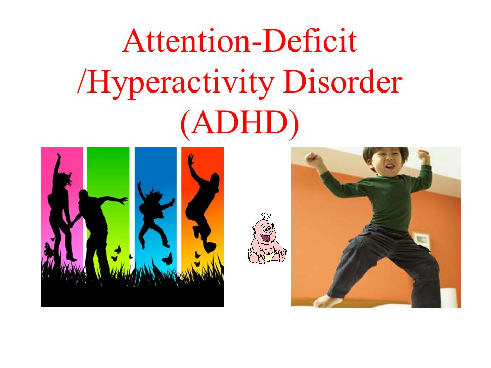 Definition of ADHD Attention-deficit/hyperactivity disorder describes children who display persistent age-inappropriate symptoms of inattention, hyperactivity, and impulsivity that are sufficient to cause impairment in major life activities.