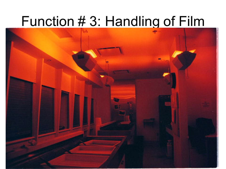 Function # 3: Handling of Film