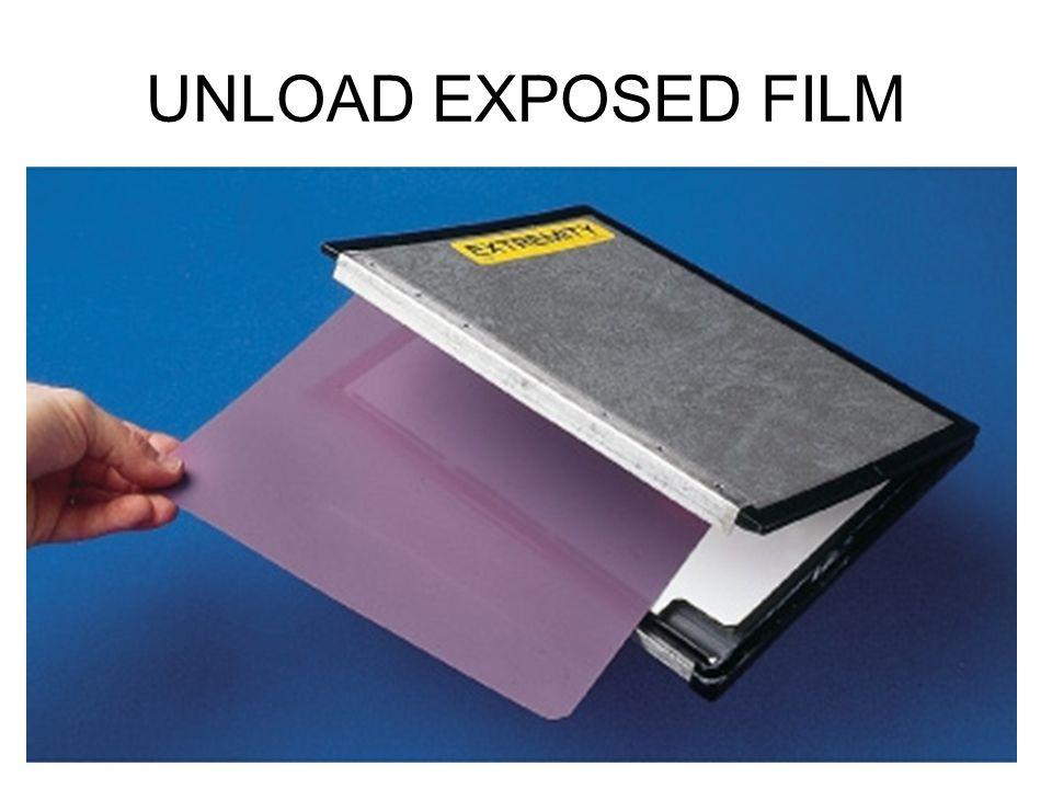 UNLOAD EXPOSED FILM