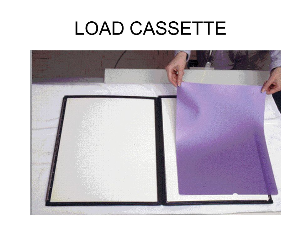 LOAD CASSETTE