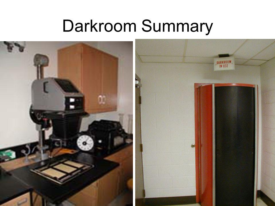 Darkroom Summary