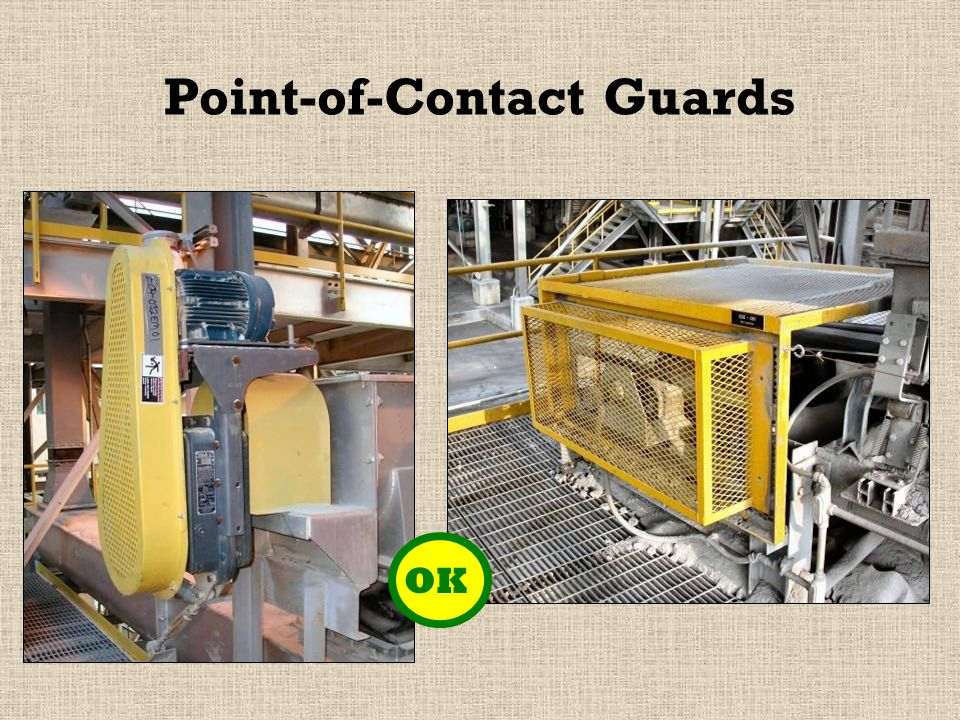 Point-of-Contact Guards OK
