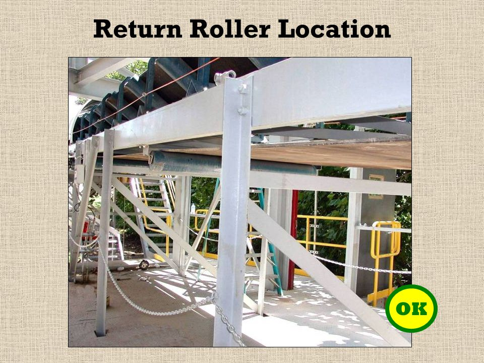 Return Roller Location OK