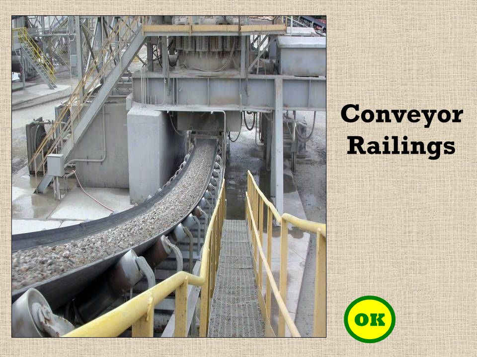 OK Conveyor Railings