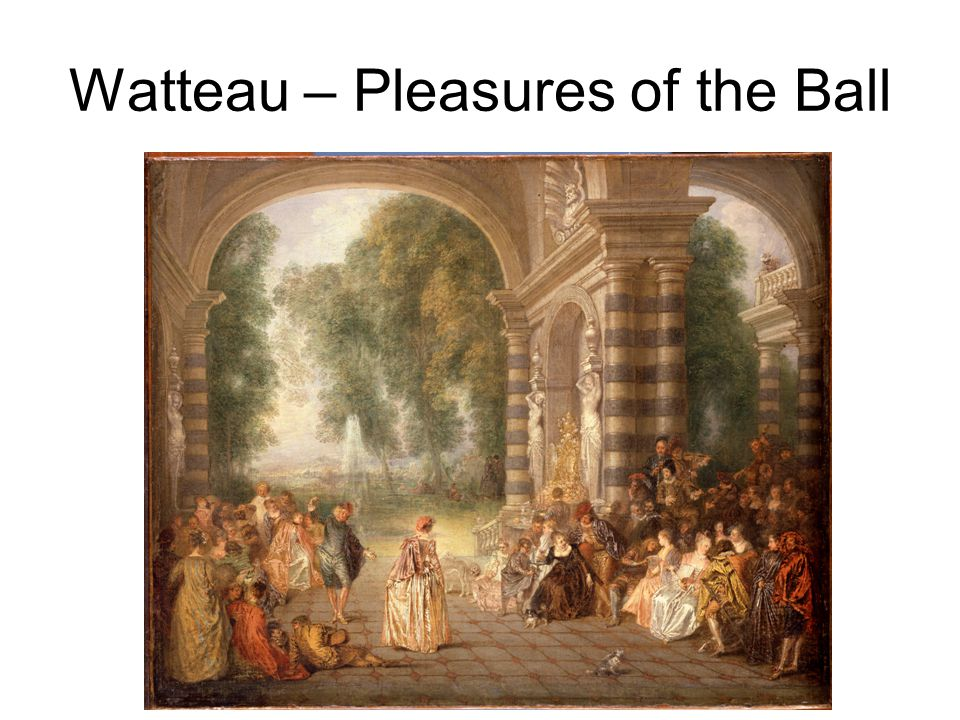 Watteau – Pleasures of the Ball