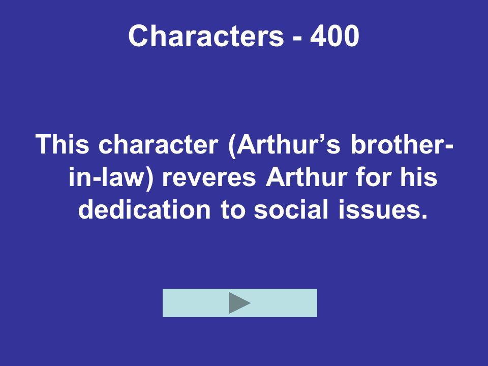 Characters - 400 Who is John Harrison?