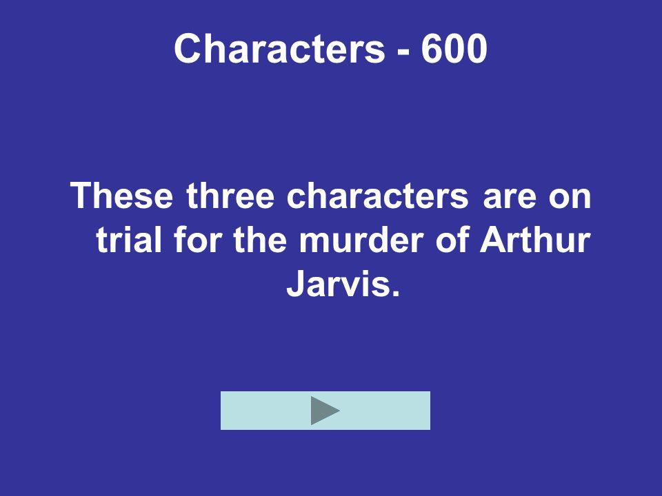 Characters - 600 Who are Absalom Kumalo, Matthew Kumalo, and Johannes Parfuri?