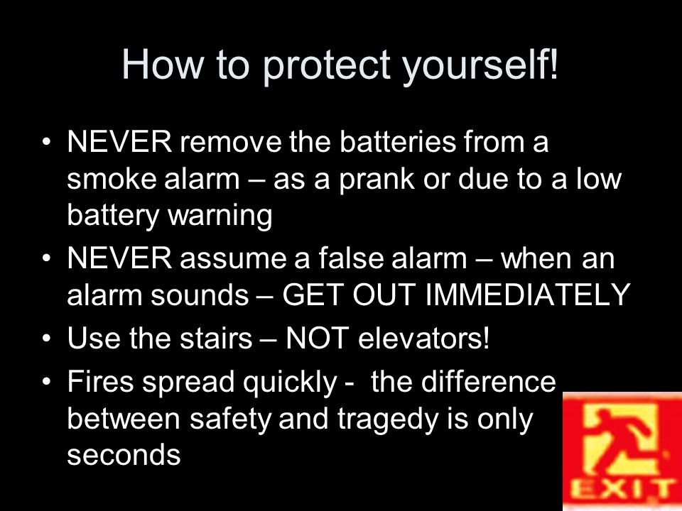 How to protect yourself.
