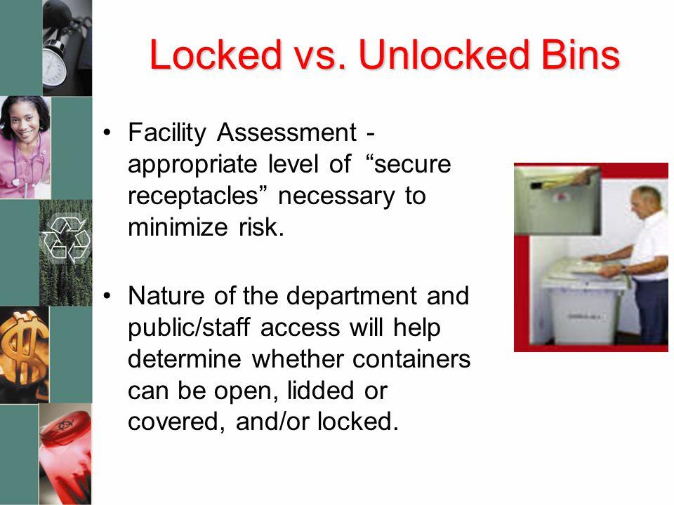 Locked vs.