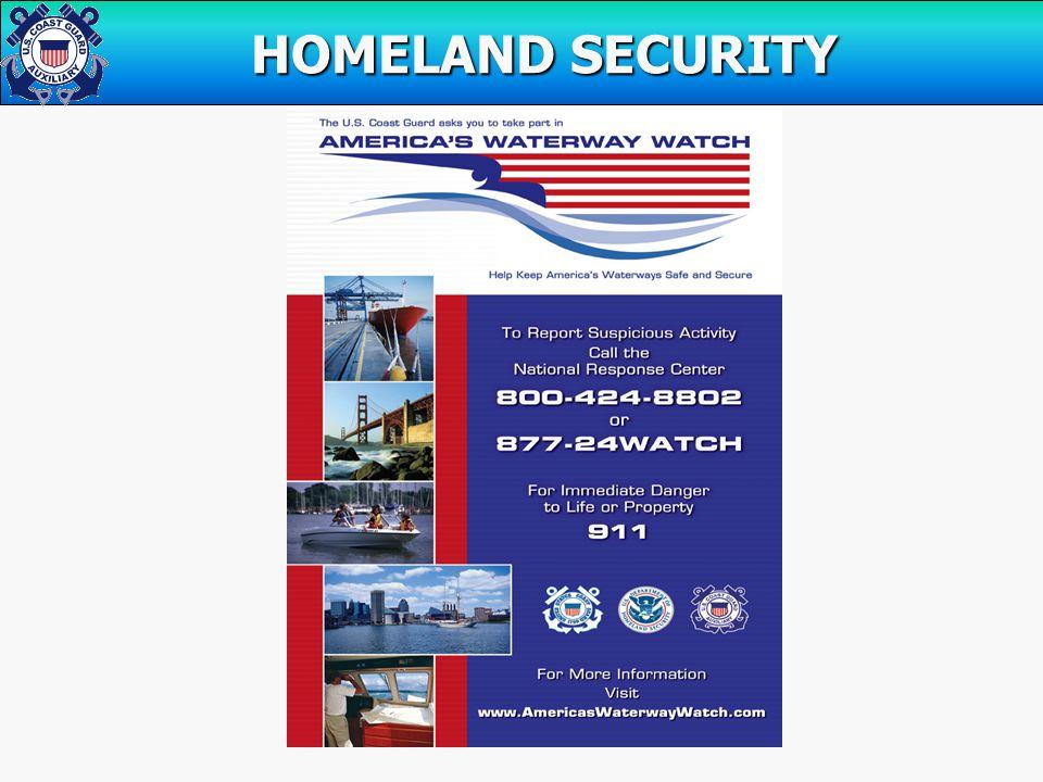 HOMELAND SECURITY HOMELAND SECURITY