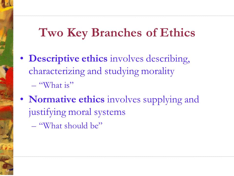 Principles Approach to Ethics Principle of Rights focuses on examining and possibly protecting individual moral or legal rights