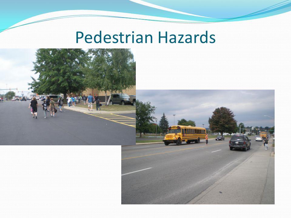 Pedestrian Hazards