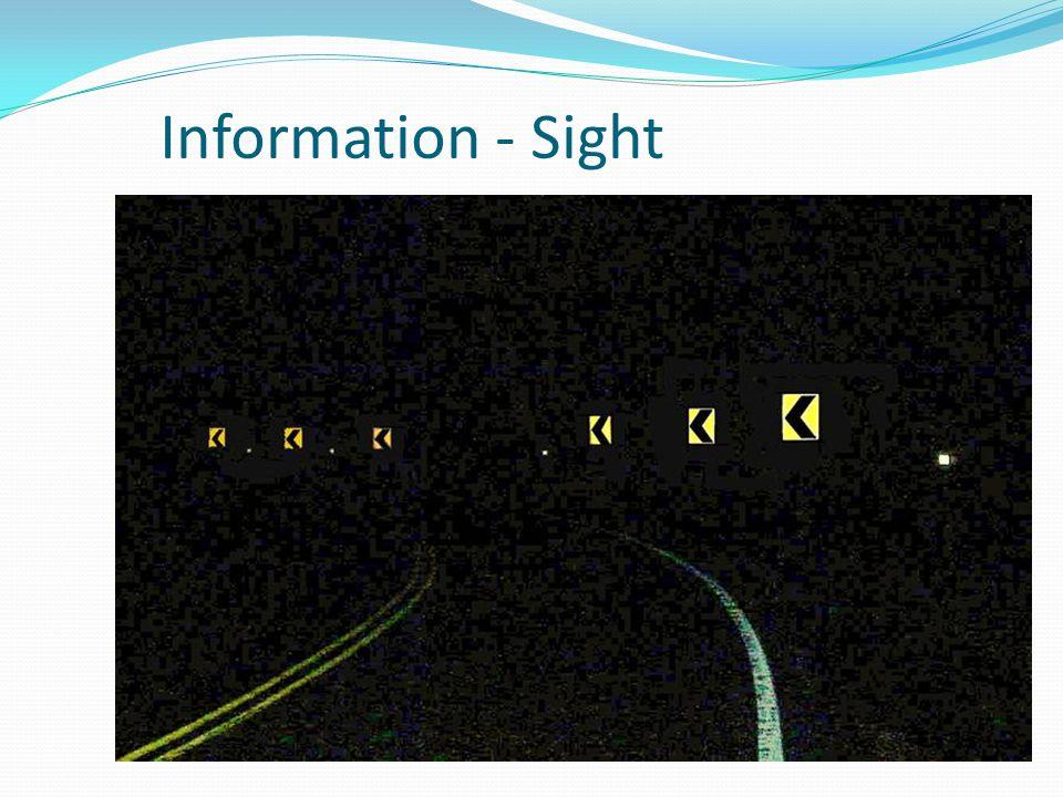 Information - Sight