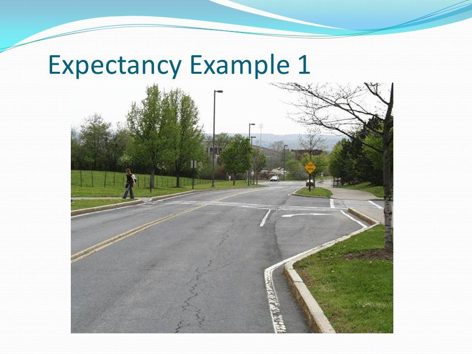 Expectancy Example 1
