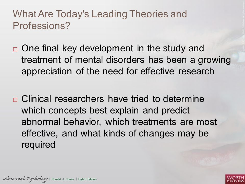 What Are Today s Leading Theories and Professions.