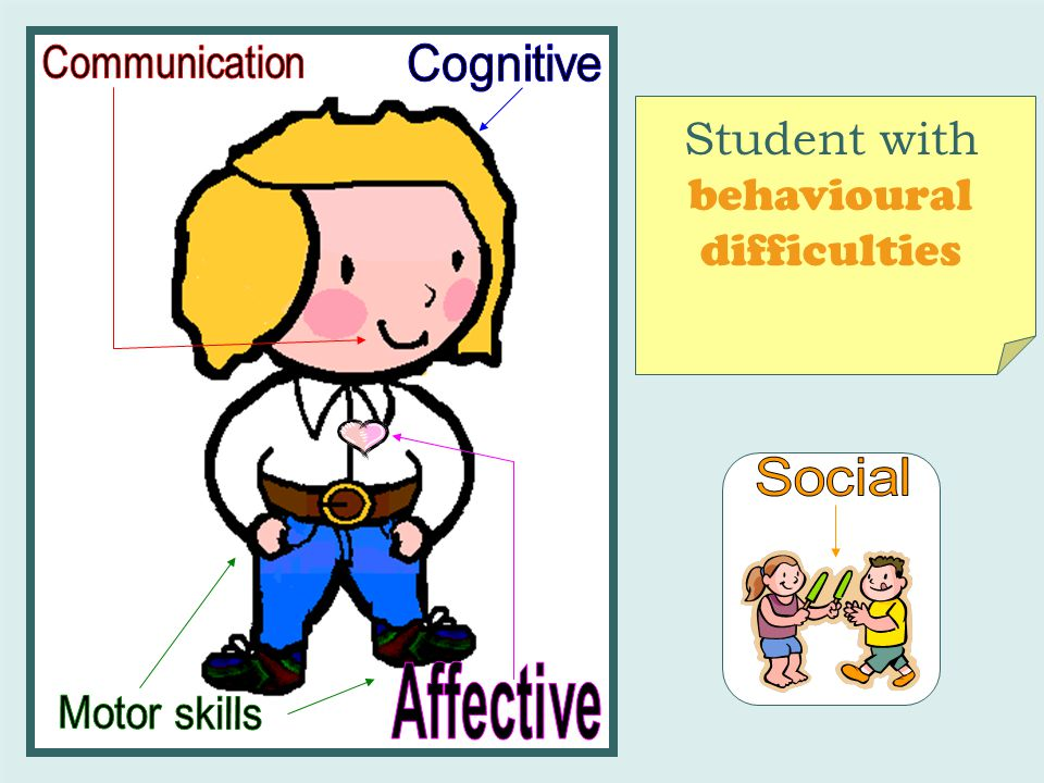 Student with behavioural difficulties