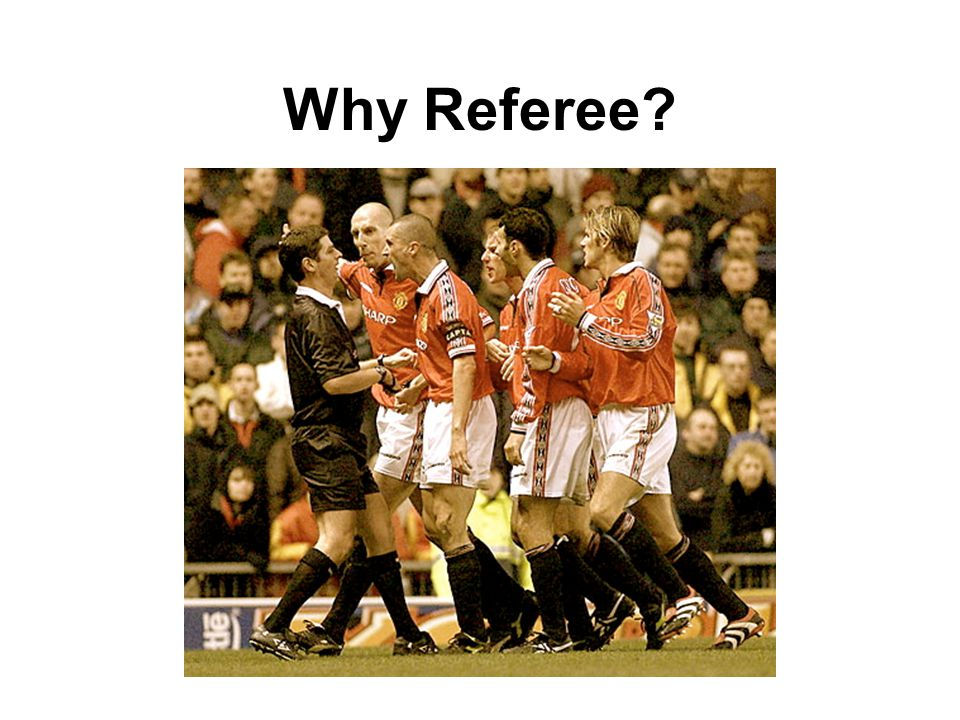 I first started due to: Time constraints Frustration at lack of referees at lower grades of football Always wanted to give it a go