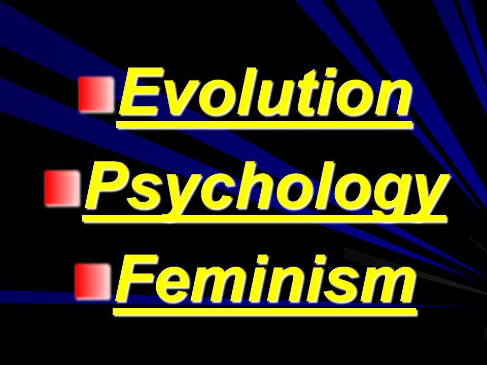 EvolutionPsychologyFeminism