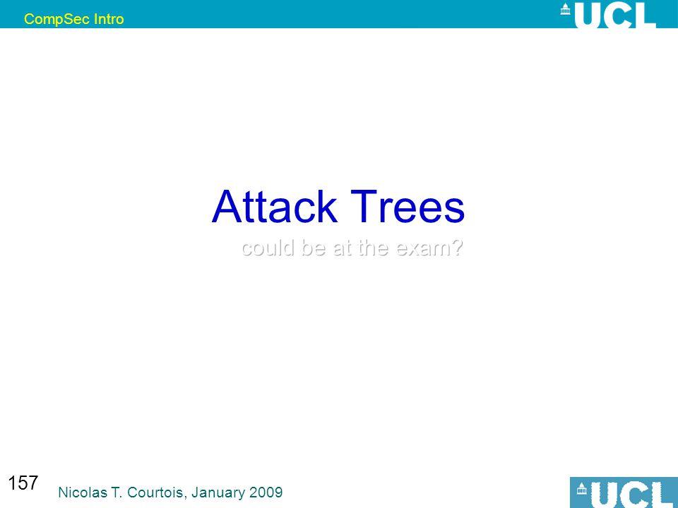 CompSec Intro Nicolas T. Courtois, January 2009 157