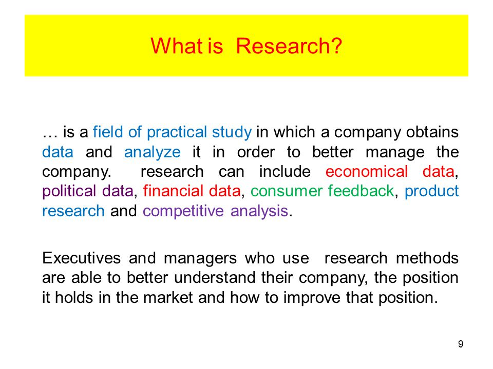 Limited-service suppliers specialise in one or a few phases of a marketing research project.