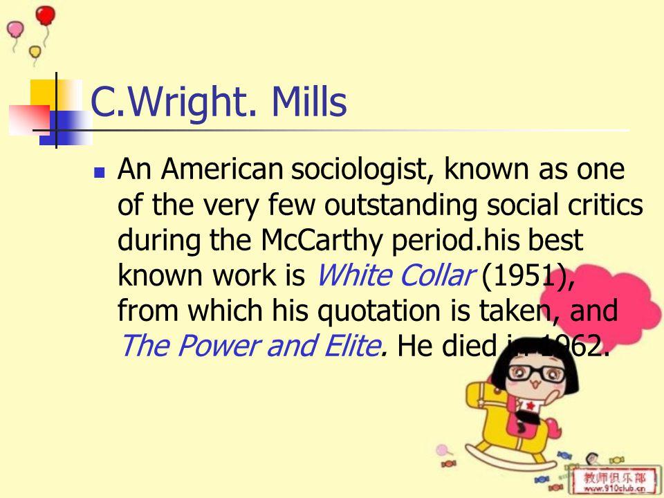 C.Wright.