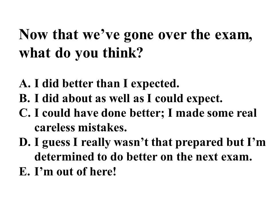 Clicker Points Exam Score