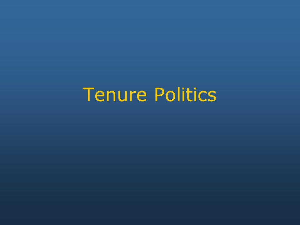 Tenure Politics