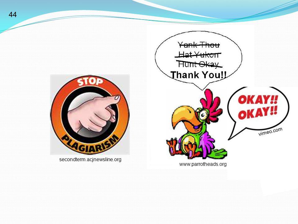 secondterm.acjnewsline.org www.parrotheads.org vimeo.com 44