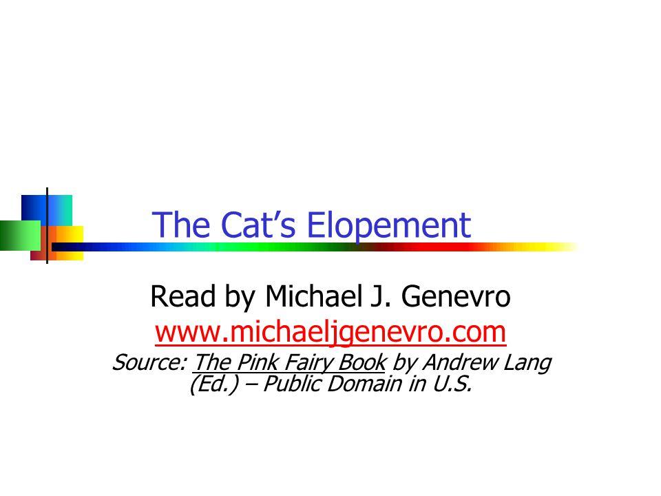 The Cat's Elopement Read by Michael J.