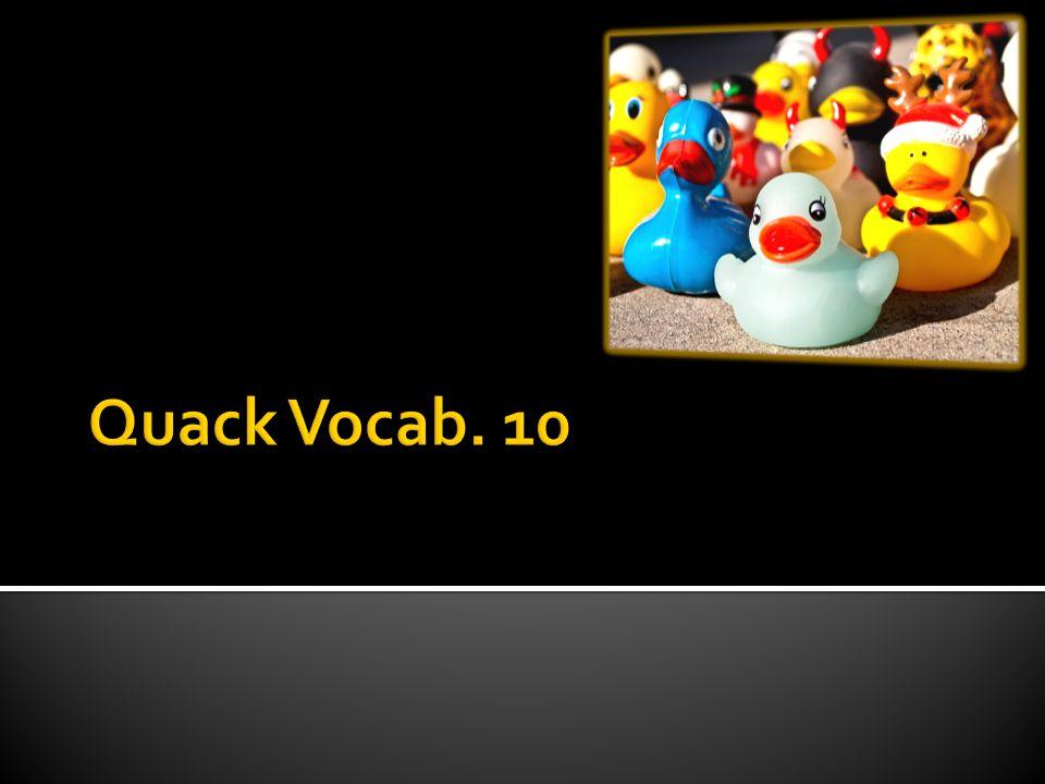  Part of Speech: Adj.