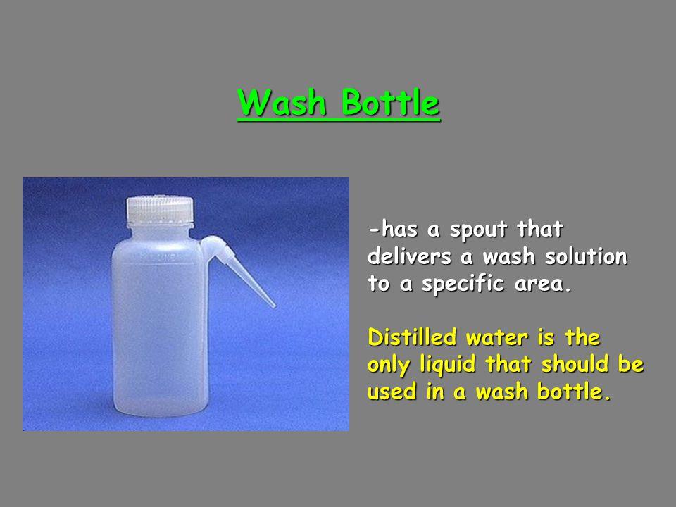 Beaker Tongs -are used to move beakers containing hot liquids
