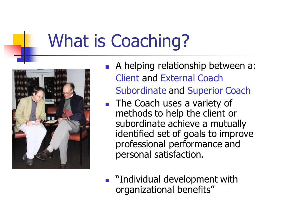 How does Coaching Work.