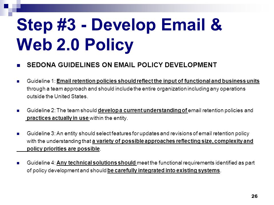 More questions to ask….  Does the message support decisions that were made in my program area.