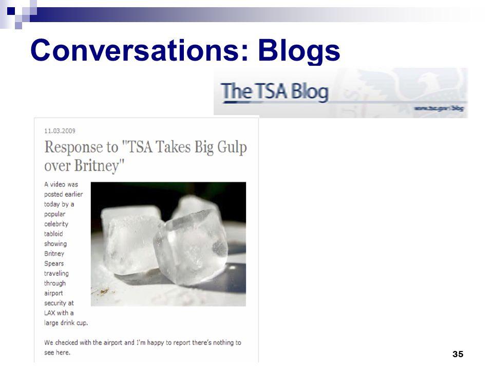 Conversations: Microblogs 34