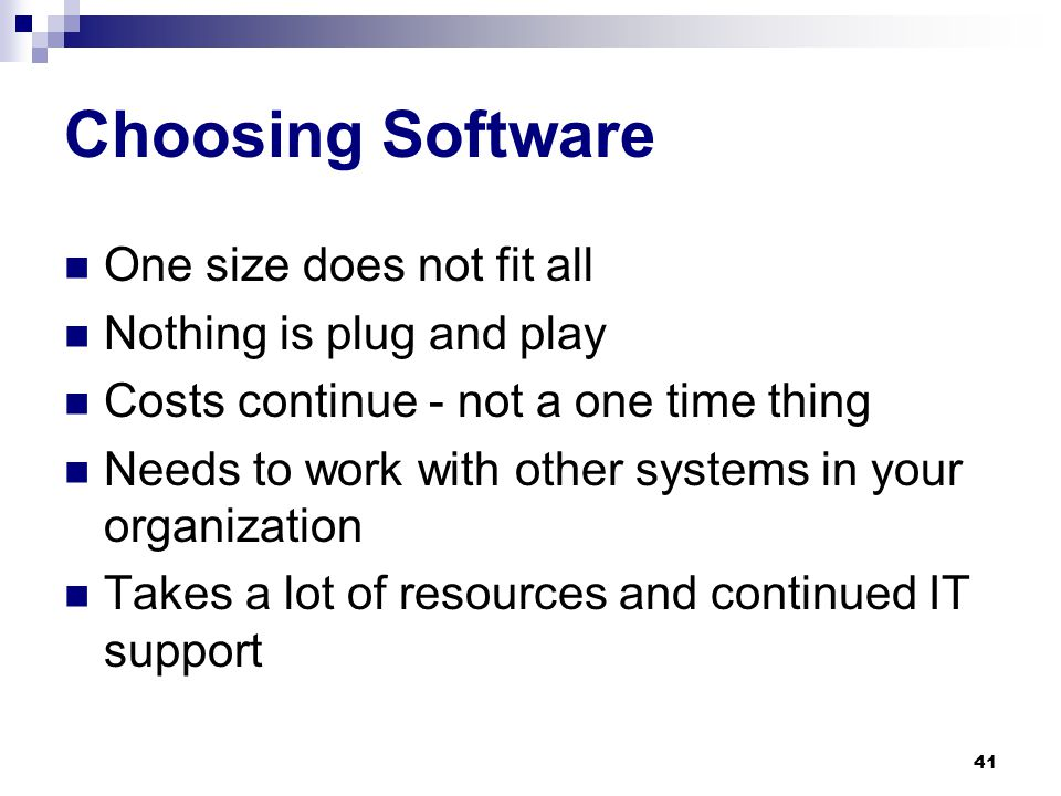 Software Solutions Email Archiving software Email modules are available for document management systems 40